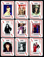 KAREN CARPENTER 1 BOX WITH 54 POKER PLAYING CARDS - ARGENTINA!