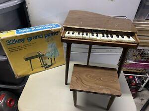 Vintage Bandai 32key Grand Piano Very Rare!! Made In Japan.