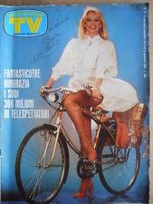 TV Sorrisi e Canzoni n°2 1983 Copertina Raffaella Carrà - Grace Kelly  [D40]