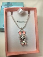 Childrens Necklace In Gift Box Rabbit P&P only 76p Regardless Of Quantity Bought