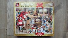 Lovely King Santas Workshop 1000 Piece Jigsaw Christmas Edition