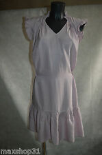 ROBE  TUNIQUE ONE STEP BE 34/36 COTON DRESS/KLEID/ABITO/VESTIDO COTON ET SOIE