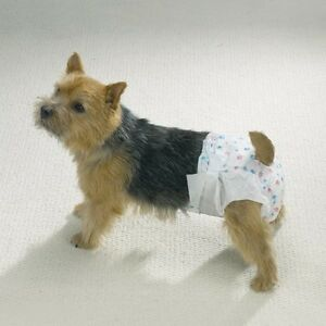 Dog Diaper Bulk Packs Disposable Doggie Diapers Helps Protect from Soiling !