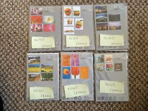 N158-163 - POSTCARDS FOR CRAFTING - PAPERCRAFT SCRAPBOOKING CARD MAKING TOPPERS