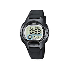 Nuevo Reloj Casio para Mujer Negro Correa de resina Led Iluminador Reloj De Hora Dual LW-200 -1 bvdf
