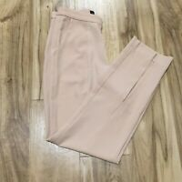 NWT Lavish Alice Front Split Tapered Leg Trousers Size 2 (Actual 26X25 1/8)Pants