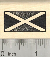 Flag of Jamaica Rubber Stamp, Saltire D25024 WM
