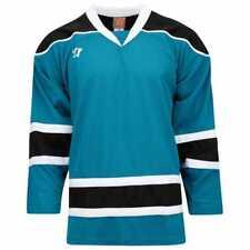 Warrior K130 Youth San Jose Sharks Style Jersey - Medium - New