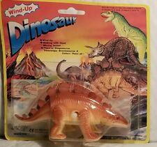 Vintage Wind Up Walking Dinosaur - Stegosaurus