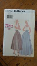Butterick Retro 1949 Pattern #6702, Misses' Petite Skirt, Sz 12-14-16