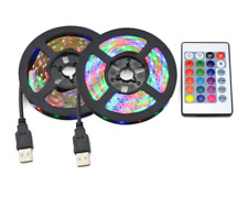 USB Powered 5V RGB LED Strip Light Backlight for LCD TV PC Computer Case Monitor