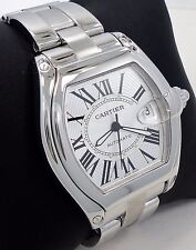 Cartier Roadster Large Size Stainless Steel Automaric 2510 REF# W62025V3 *MINT*