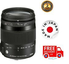 Sigma 18-200mm F3.5-6.3 DC Macro OS HSM Lens For Canon 885954 (UK Stock)