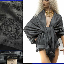 $590 GIANNI VERSACE Medusa / Baroque WOOL STOLE / SCARF w/ Tag