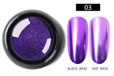 Nail Art Glitter Dipping Powder Chrome Mirror Glitter Pigment Powder For Nails 3