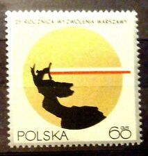 POLAND STAMPS MNH 1Fi1839 Sc1718 Mi1986 -The liberation of Warsaw, 1970, **