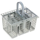 Grey 8 Slot Dishwasher Cutlery Basket Tray Cage For Hotpoint & Indesit Machines