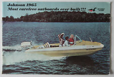 JOHNSON Outboards 1965 dealer brochure - English - Canada - ST1002000318