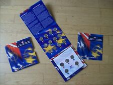 De 50 State Quarters & Euro Coin Collection set 2002