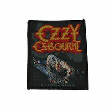 Ozzy Osbourne Bark At The Moon Woven Patch Official Merchandise