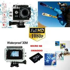 Sport Action Pro Cam Camera HD DV  Waterproof Videocamera Subacquea Go-hd camera