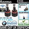 FIZZMO BMW H8 40w using CREE LED ANGEL EYE HALO RING BULB XENON WHITE ERROR FREE