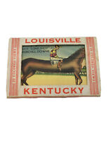 VINTAGE COLORED  20 VIEW CARD SET LOUISVILLE KENTUCKY Unused