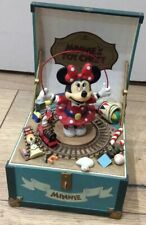 Boîte Musique Minnie Disney Official Schmid Hand Painted Toy Chest Mickey Mouse