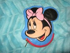 New Vintage Disney Minnie Mouse Blue Face Ears Coin Purse Squeaky Squeaker
