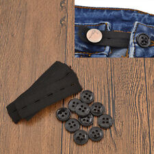 10 Pcs Expanders Elastic Bands Fix Extender Waist Men Women Pants Jeans Stretch