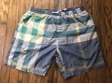 Burberry Brit Nova Check Swim Trunks Shorts Size XL