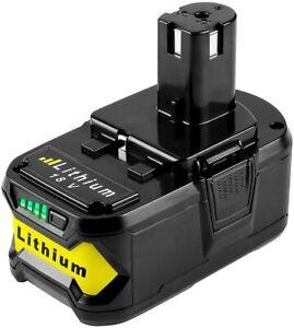 Batterie 18V 5.0Ah Pour Ryobi One+ RB18L50 RB18L40 RB18L25 RB18L15 RB18L13 P108