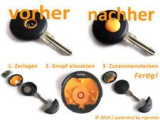 Smart Druckknopf Schlüssel Fernbedienung Funk Ersatz Knopf Taste MC01 450 ForTwo