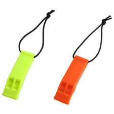 Scuba Diving Dive Snorkeling Underwater Safety Whistle with Lanyard