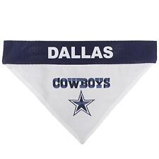 Dallas Cowboys NFL Licensed Reversible Pets First Dog Pet Bandana Size XL