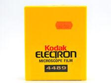 KODAK ELECTRON MICROSCOPE FILM ( 4489 ) 100 X 6,5 X 9 CM SCAD 06/2008 CHIUSO