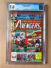 Avengers Annual #10 CGC 7.0 (F/VF) OW-W 1st Appearance of Rogue from X-Men