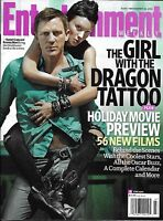 Entertainment Weekly Magazine The Girl With The Dragon Tattoo Michelle Williams