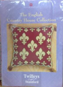 TWILLEYS OF STAMFORD CROSS STITCH -COUNTRY HOUSE COLLECTION 'AUDLEY END HOUSE'