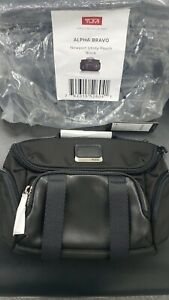 TUMI Alpha bravo New port utility pouch BLACK
