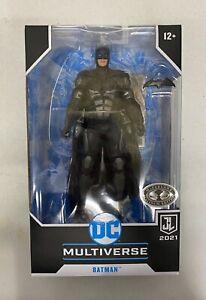 BATMAN PLATINUM CHASE McFarlane DC Multiverse Justice League Snyder Cut Figure