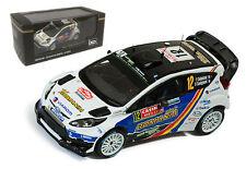 IXO RAM571 Ford Fiesta RS WRC #12 Monte Carlo Rally 2014 - F Delecour 1/43 Scale