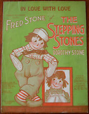 """In Love With Love from """"The Stepping Stones"""" by Anne Caldwell & Jerome Kern 1923"""
