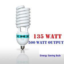 1x135 Watt Compact Fluorescent Full Spectrum 5500K Photo Light Bulb Photography