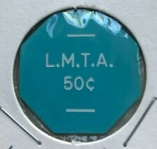 Ludington Michigan MI LMTA 50 Cents Money Chip Transportation Token