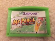 LeapFrog Mr. Pencil Saves Doodleburg Game Cartridge Leapster Explorer LeapPad