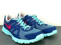 Nike Revolution  Running Shoes 555090-404 Blue Pink Navy Sneakers Size 6Y
