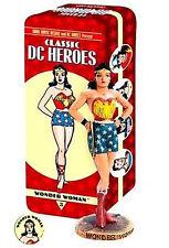 Wonder Woman Classic Vintage Tin Statue DC Comics Dark Horse FS 2007 Amricons .