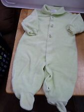 Green Sleeper with Bugs, Carters 3-6 months