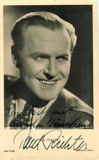 Paul Richter Ross A 2533/1 signiert, Autogramm